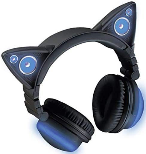 brookstone cat ear headphones wireless