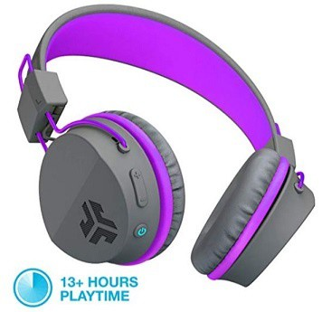 Purple Jlab Neon Wireless Headphones