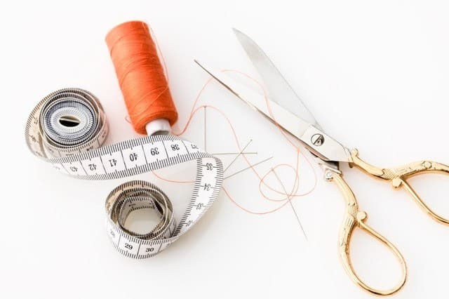 Sewing New Headphone Pads